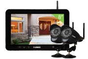 Home camera kit with 2 wireless cameras