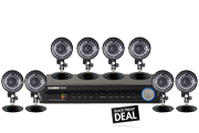 8 channel DVR system with cameras