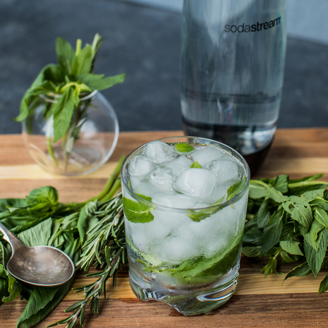 HERB INFUSED SPARKLING SODA