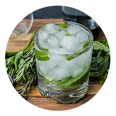 HERB INFUSED SPARKLING WATER
