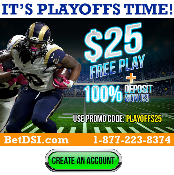 It's Playoffs Time, $25 Free Play