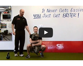 Metabolic Stability: Sprinter's Stance with Movement