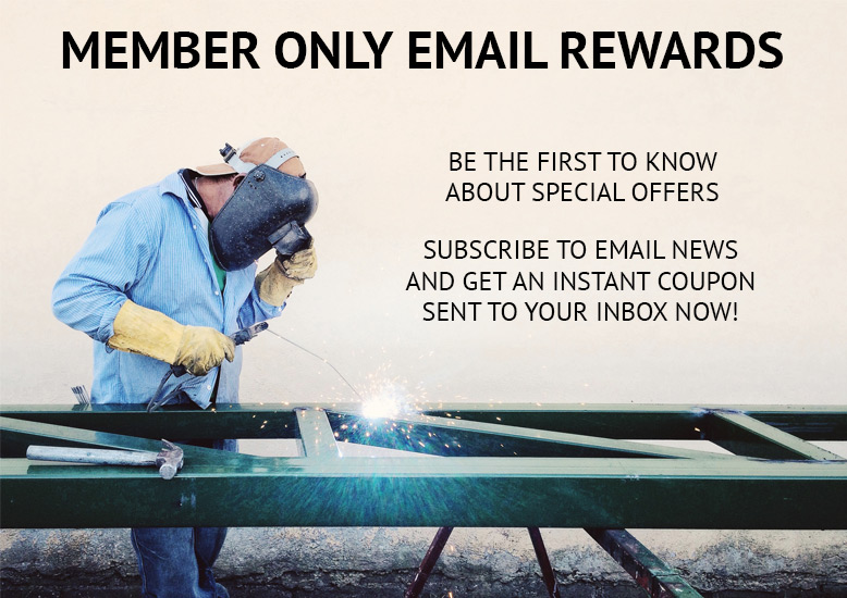 New! Email Rewards. It pays to be on the list.