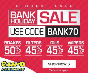 Bank Holiday Sale at Euro Car Parts