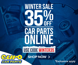 Winter Sale now on at Euro Car Parts
