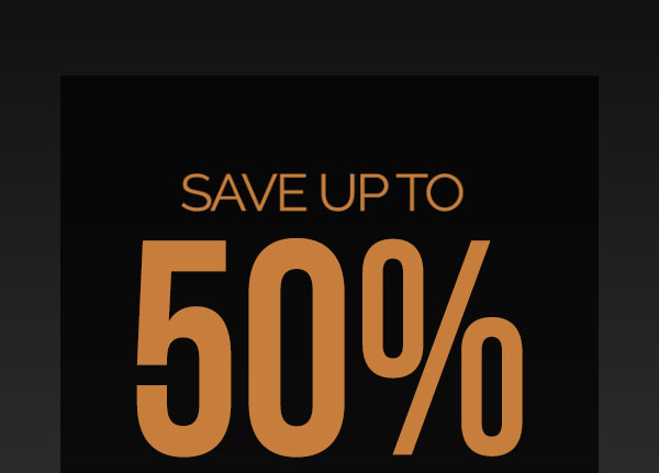 Save Up To 50% On Holiday Gifts