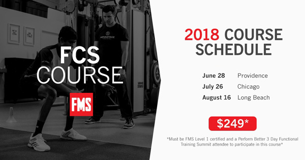 FCS Course from FMS. 2018 Course Schedule. June 28 - Providence. July 26 - Chicago. August 16 - Long Beach. $249.