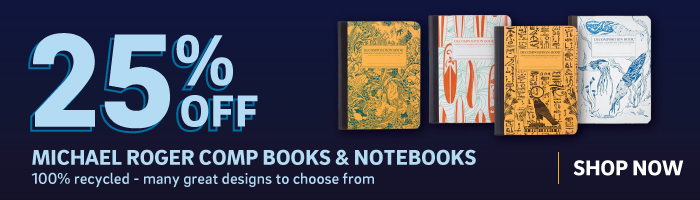 25% off decomposition notebooks