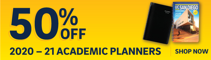 50% off 2020-21 academic planners