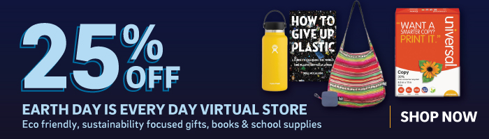25% off Earth Day is Every Day Virtual Store Items