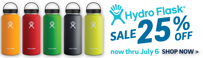 25% off Hydro Flask - now thru 7/6