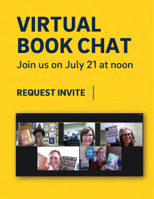 Virtual book chat, July 21 at noon - request an invite