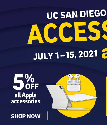Computer store accessory sale 7/1-15: save 5% off all Apple accessories