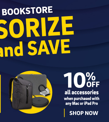 Computer store accessory sale 7/1-15: save 10% off all accessories when purchased with any Mac or iPad Pro