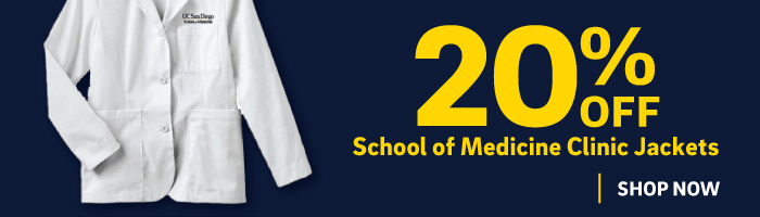 20% off School of Medicine clinic jackets - Medical residency must haves