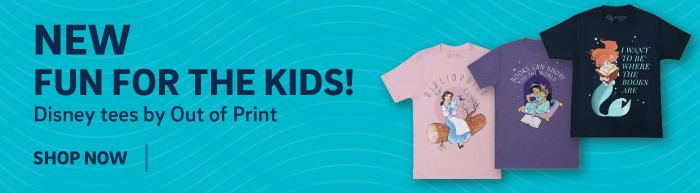 New, fun for the kids! Disney tees by Out of Print.