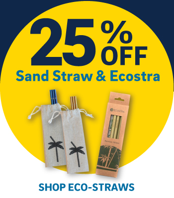 25% off Sand Straw and Ecostra