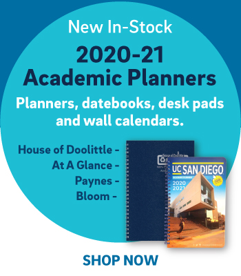 New in stock - 2020-21 academic planners