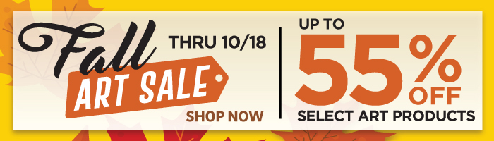Fall Art Sale - save up to 55% - now through 10/18