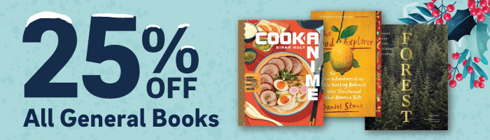 25% off general books