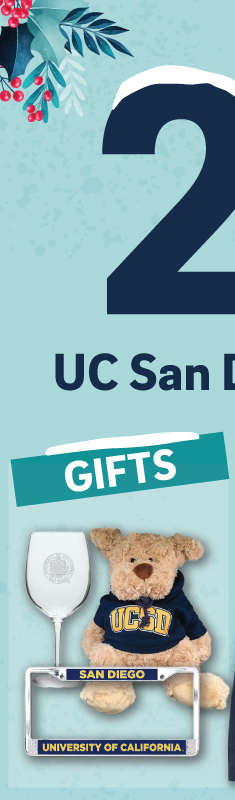 Save 25% off UCSD logo'd gifts