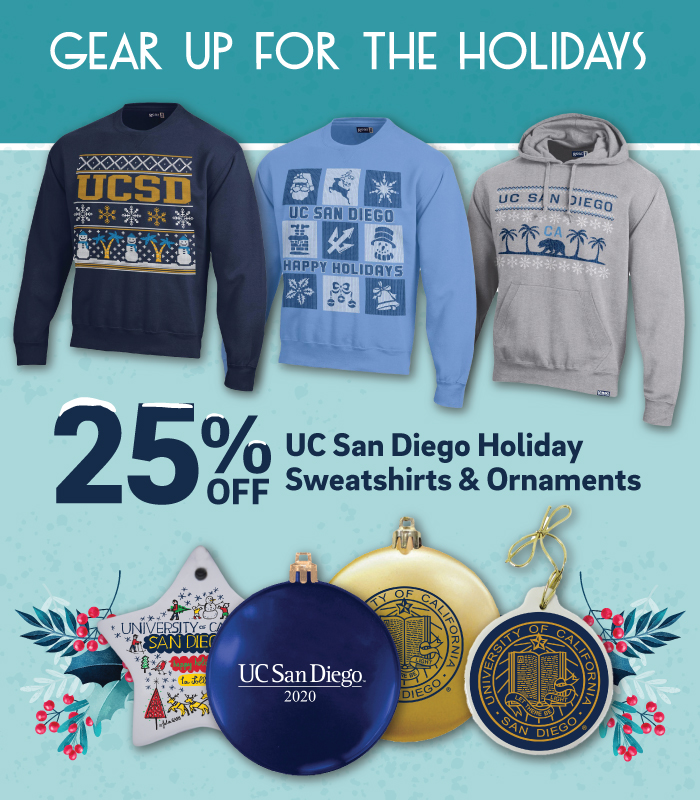 Gear up on UCSD Holiday Gear