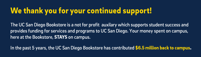 The bookstore is a not for profit campus auxilary
